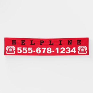 Einfach Symbole - TELEFON + Ihre Ideen Banner