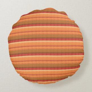 Einfache DIY Schablone addieren TEXT-FOTO-BILD Rundes Kissen