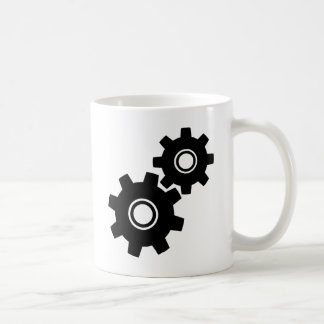 Einfache Gang-Zähne Kaffeetasse