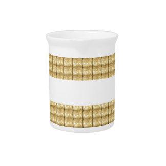 Einfache GOLDstreifen FREIER RAUM Schablone Krug