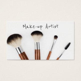 Einfache moderne Make-upkünstler-Visitenkarte Visitenkarten