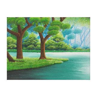 Einfache Natur-Malerei Leinwanddruck