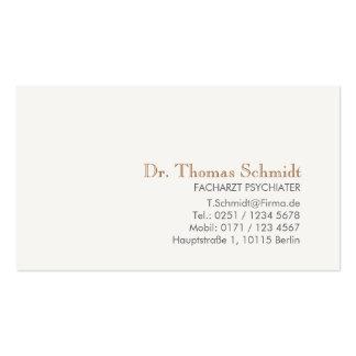 Arzt Visitenkarten