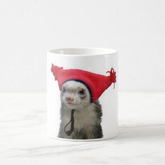Einfache verrückte Frettchen-Tassen Tasse