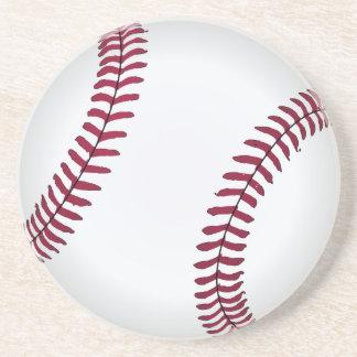 Einfacher Baseball-runde Untersetzer