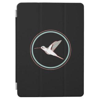 Einfacher Black flying hummingbird elegant drawing iPad Air Hülle