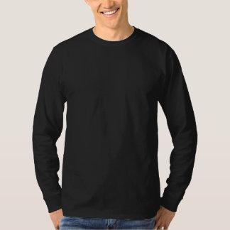 Einfacher grundlegender langer die Hülsen-T - T-Shirt