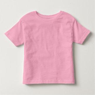 Einfacher rosa Kleinkind-Geldstrafe-Jersey-T - Kleinkind T-shirt