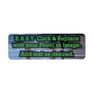 Einfaches Klicken u. ersetzt Bild, um Ihre Selbst