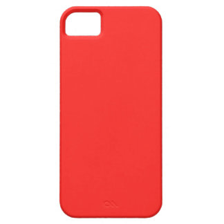 Einfaches ROT: Kaufen Sie LEERES oder addieren Sie iPhone 5 Cover