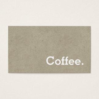 Einfaches Wort-dunkler Visitenkarten