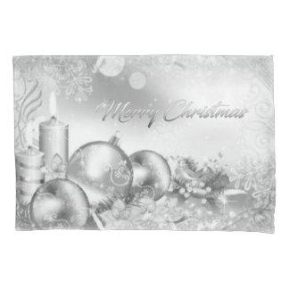 Einfarbiger Weihnachtskissen-Kasten Kissenbezug