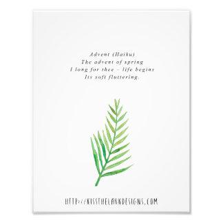 Einführung - Poesie 8,5 x 11 bedruckbar Fotodruck