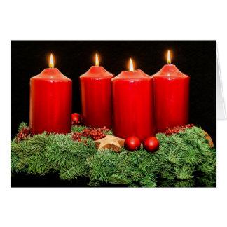 Einführungs-Kranz der frohen Weihnachten Karte