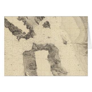 Eingang nach San Francisco Bay Kalifornien Karte