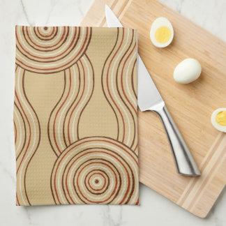 Eingeborene Kunsterde Küchenhandtuch