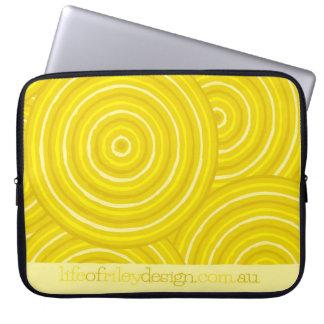 Eingeborene Linie Malereicomputerhülsen Laptop Sleeve