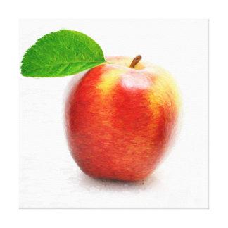Eingewickelte Leinwand Apples Malerei Leinwanddruck