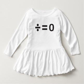Einheits-Symbol-Kleinkind-Rüsche-Kleid Kleid