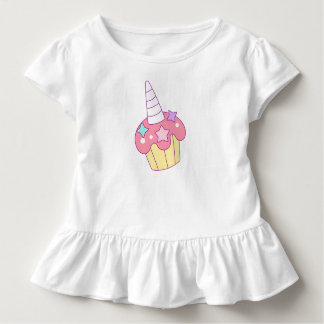 Einhorn-Cupcake Kleinkind T-shirt