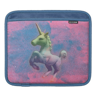 Einhorn iPad Hülse (rosa kleiner Kuchen) Sleeve Für iPads