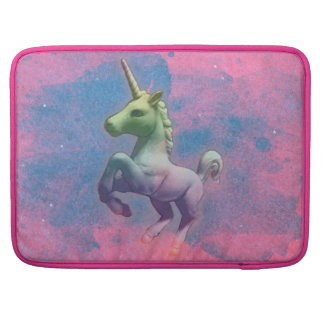 Einhorn Macbook Hülse (Kuchen-Rosa) Sleeve Für MacBooks