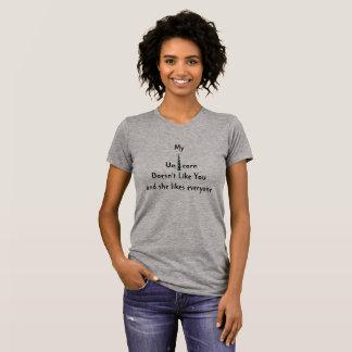Einhorn mag Sie nicht T-Shirt