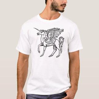 Einhorn oder Pegasus Unicórnio ou pégaso Einhorn T-Shirt