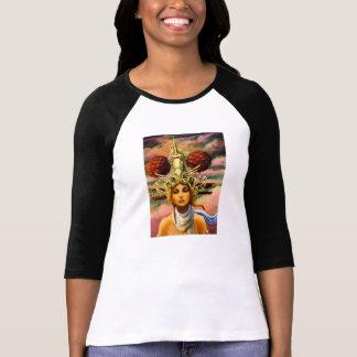 Einhorn-reisende Kopfbedeckung T-Shirt