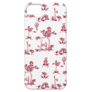 Einhorn roter Toile iPhone 5 Kasten iPhone 5 Etuis