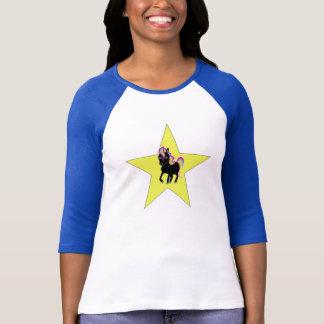 Einhorn-Stern T-Shirt