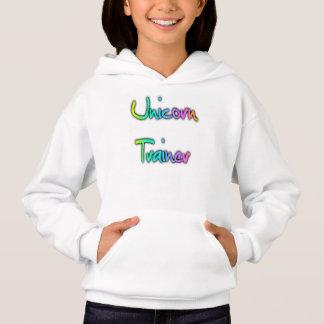 Einhorn-Trainer-Regenbogen Hoodie