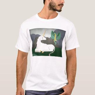 Einhorn und Drache T-Shirt