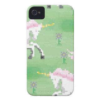 einhörner in den Feldern von pixel iPhone 4 Cover