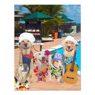 Einladung des lustige Hundekundengerechte