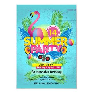 Einladung des Sommer-Party-(2)