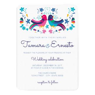 Einladung für die mexikanische Hochzeit