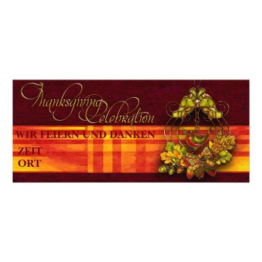 """Einladung """"Thanksgiving Celebration"""" Vers01"""