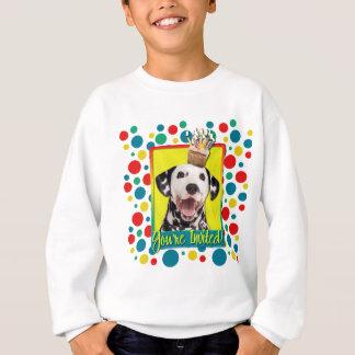 Einladungs-kleiner Kuchen - Dalmatiner Sweatshirt