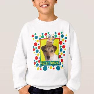 Einladungs-kleiner Kuchen - Jack Russell Sweatshirt