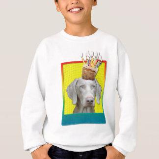Einladungs-kleiner Kuchen - Weimeraner Sweatshirt