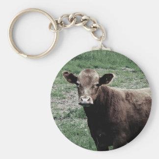 Einsame Kuh Schlüsselanhänger