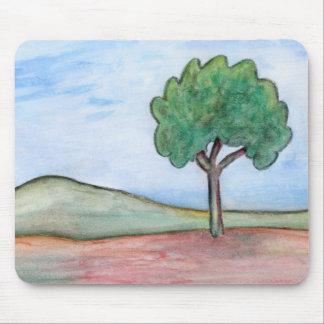 Einsamer Baum Mauspad