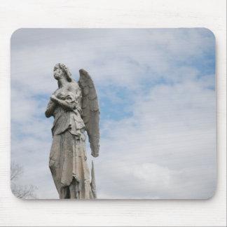einsamer Engel Mauspads