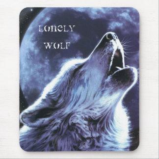 Einsamer Wolf Mauspads