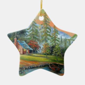 Einsamkeit Keramik Ornament