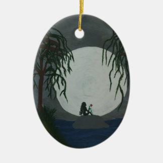 Einsamkeits-Kunst-Druck Keramik Ornament