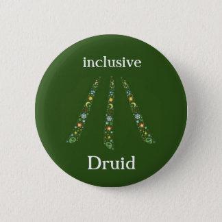 einschließlicher Druide Runder Button 5,1 Cm