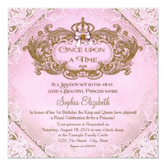 Einst Prinzessin 1. Geburtstag Karte