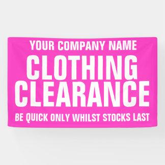 Einzelhandelsverkaufspeichergeschäftsgeschäft Banner